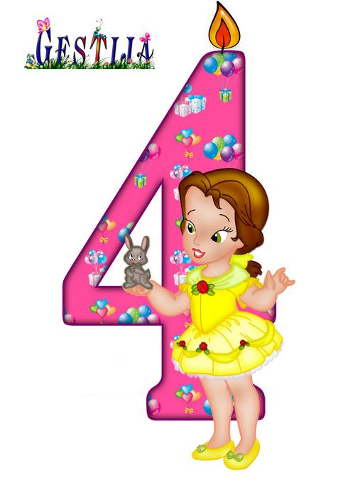 Поздравления с днем рождения дочки с 4 летием 67